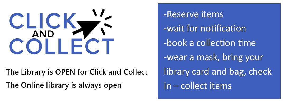 Click and Collect details HERE